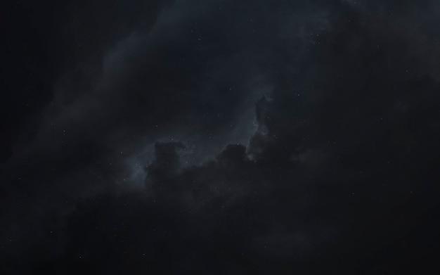 Weltraum. science-fiction-tapete, planeten, sterne, galaxien und nebel in einem fantastischen kosmischen bild. elemente dieses bildes von der nasa geliefert