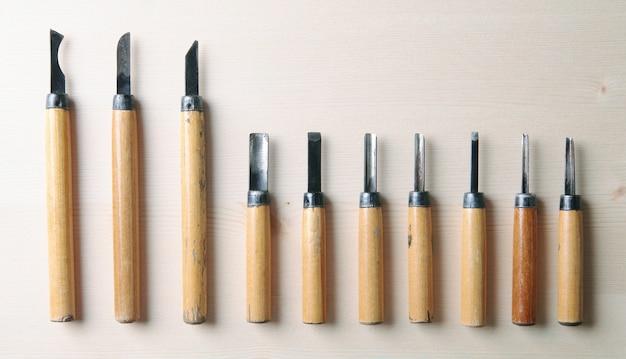 Werkzeug für holzsatz