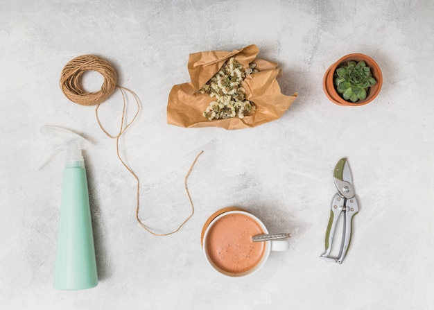 Werkzeuge und essen