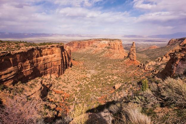 Western colorado landschaft