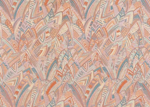 Westliche muster - textilien Premium Fotos