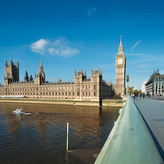 Westminster bridge in london,