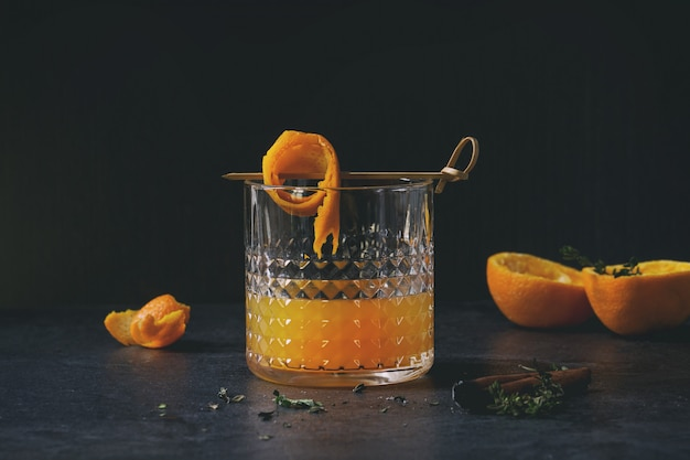 Whisky-orangen-cocktail