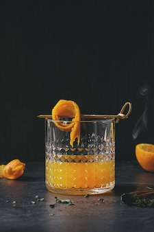 Whisky-orangen-cocktail