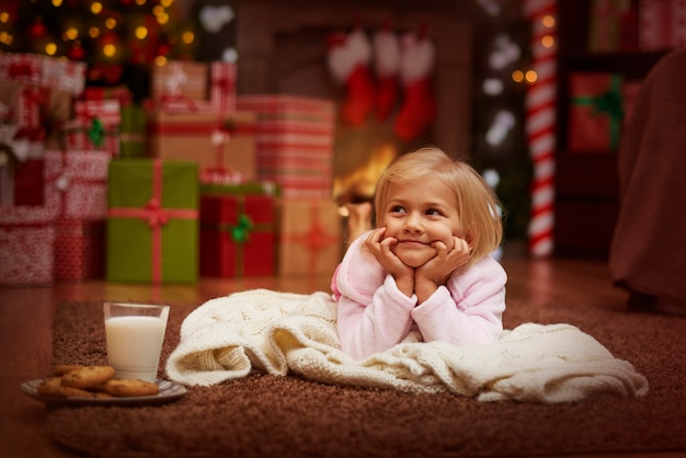 Wie lange muss ich auf den weihnachtsmann warten?