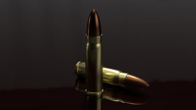 Wiedergabe der kugeln 3d für abstrakten hintergrund.