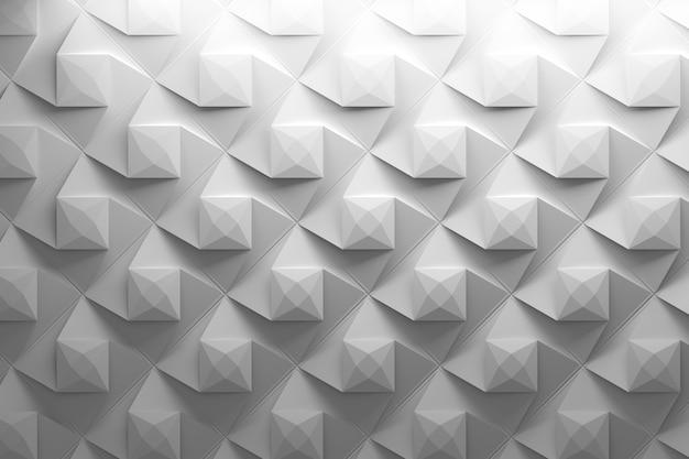 Wiederholtes muster mit gedrehten pyramiden