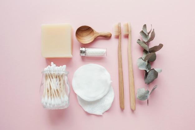 Wiederverwendbare produkte für das badezimmer
