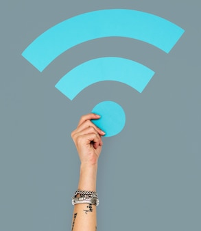 Wifi internet connection digital networking web