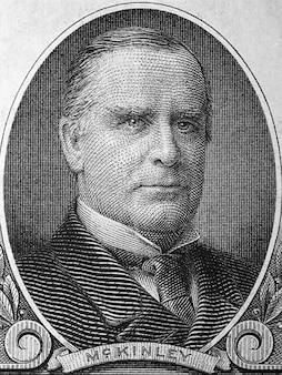 William mckinley vom alten amerikanischen dollar