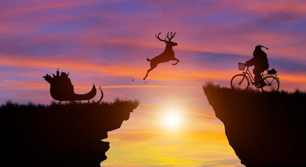 Willkommen frohe weihnachten und einen guten rutsch ins neue jahr