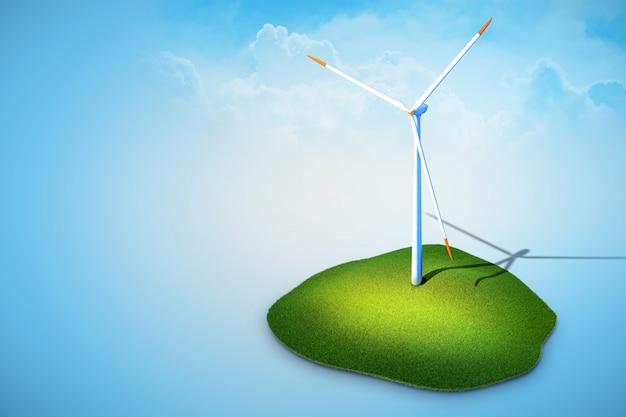 Windkraftanlagen, die strom erzeugen