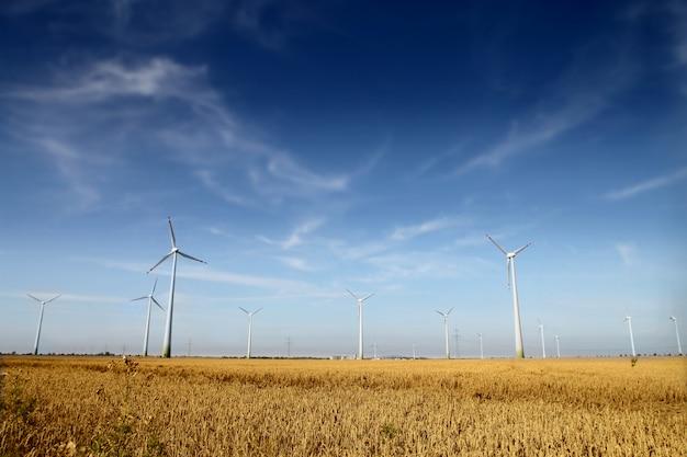 Windkraftanlagen farm