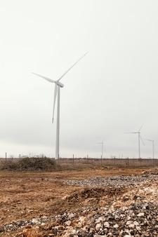Windkraftanlagen im feld erzeugen energie Kostenlose Fotos