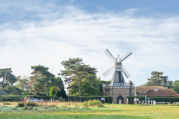 Windmühle bei wimbledon common.