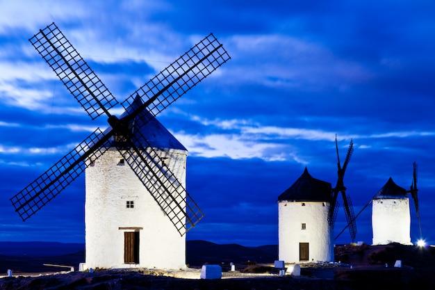 Windmühlen auf dem gebiet