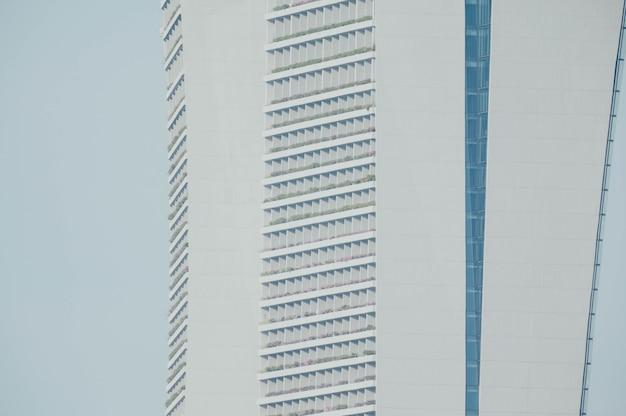 Windows eines geschäftsgebäudes