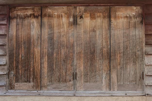Windows gemacht vom alten holz, altes holz masert hintergründe