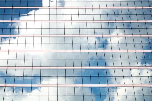 Windows von bürogebäuden.
