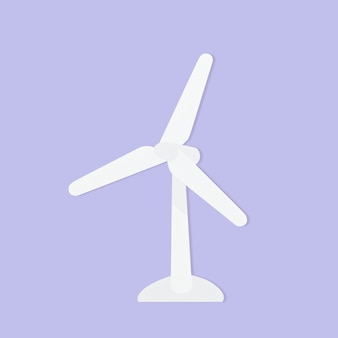 Windturbinenpapierumgebungshandwerkselement