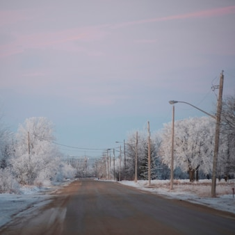 Winnipeg, winterfrost