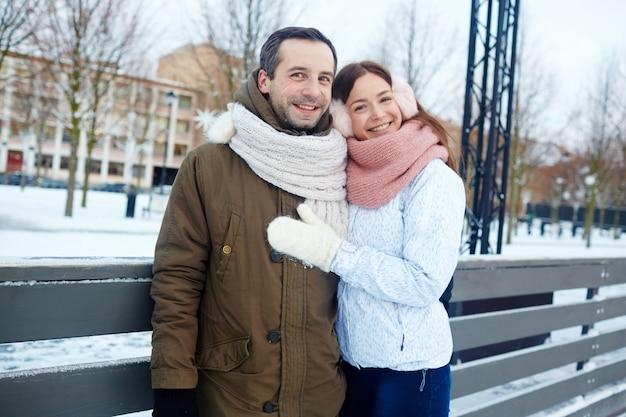 Winter-paar