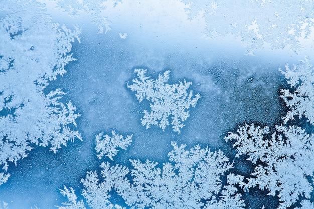 Winter raureif hintergrund