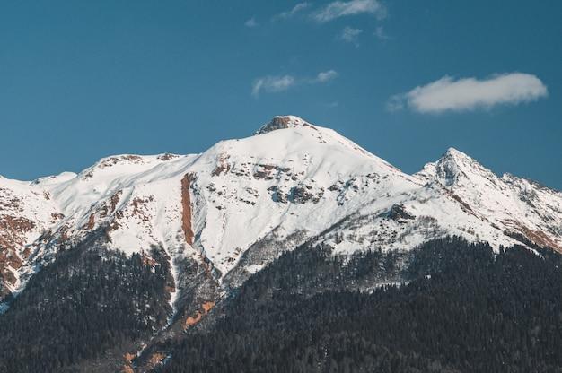 Winterberge von krasnaya polyana