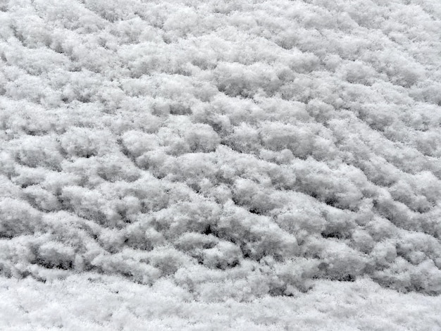 Winterbeschaffenheit, schneehintergrund, nahaufnahme
