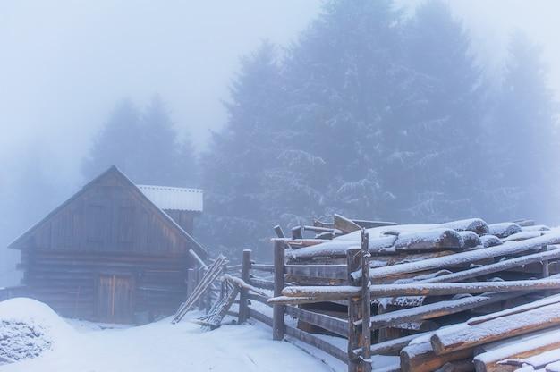Winterlandschaft in bergen