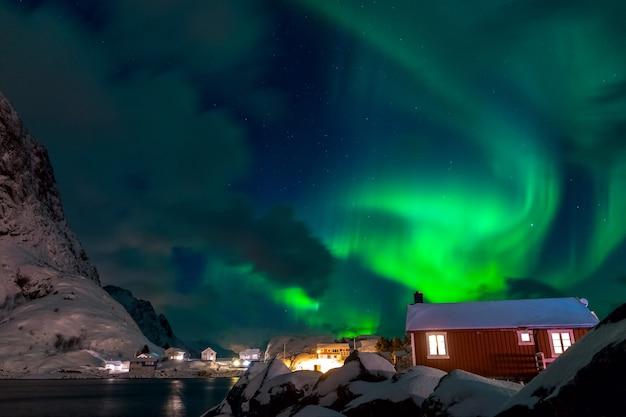 Winternacht, nordlichter