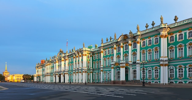Winterpalast in sankt petersburg