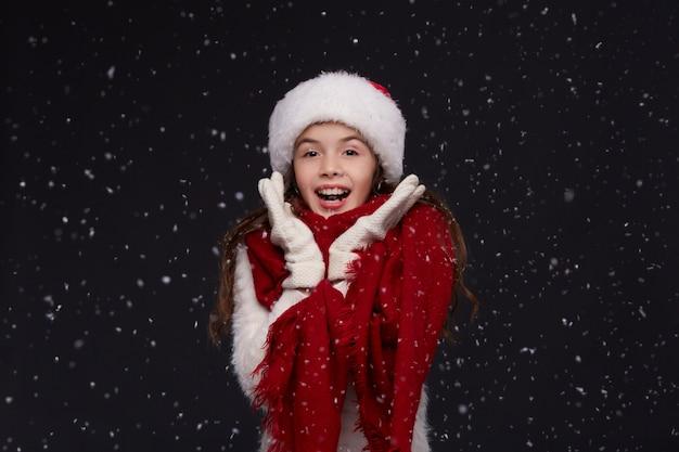 Winterurlaub, weihnachten, neujahrskonzept.