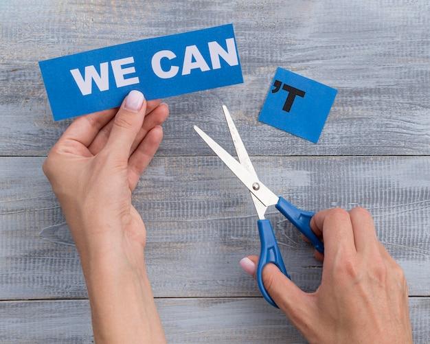 Wir können keine nachricht auf blue card arragenement