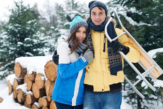 Wir lieben die wintersaison so sehr