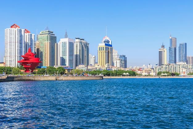 Wirtschaft wolkenkratzer hafen promenade landschaft tourismus