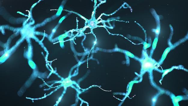 Wissenschaft der künstlichen neuronalen netzwerktechnologie.