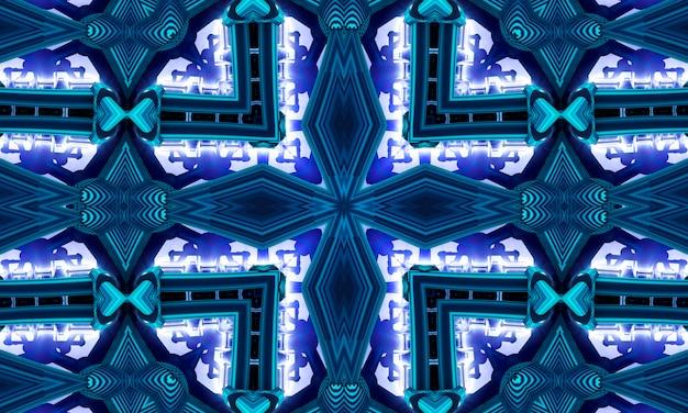 Wissenschaft drucken. marine geo tie dye. blauer geometrischer zag. schwarz gefärbtes aquarell. schwarzer textur-druck. dunkler geo-pinsel. böhmische textur zig zig. blauer boho-auszug. schwarzer farbstoff. denim geo-grunge