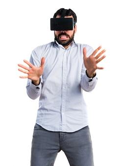 Wissenschaft gerät interaktive schutzbrillen filme