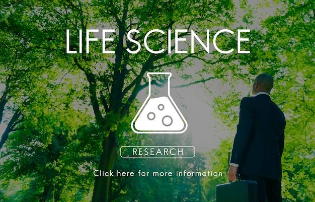 Wissenschaftliches biochemie-genetik-technik-konzept
