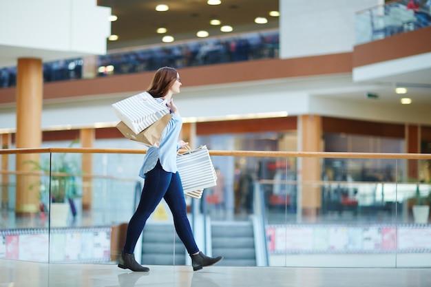 Wochenende im einkaufszentrum