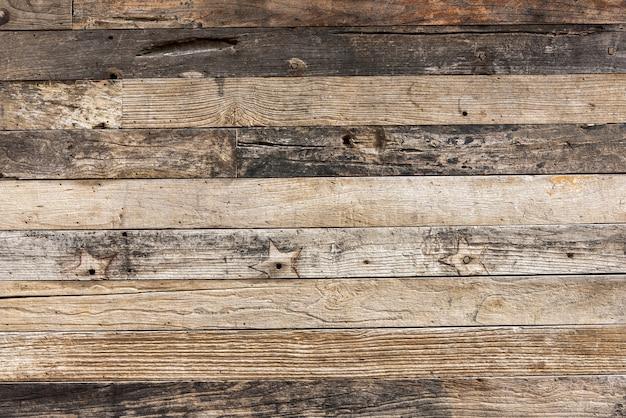 Wodden-muster des klassischen hölzernen plankenwand-beschaffenheitshintergrundes.