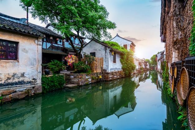 Wohnsitz in alter stadt zhouzhuang, suzhou