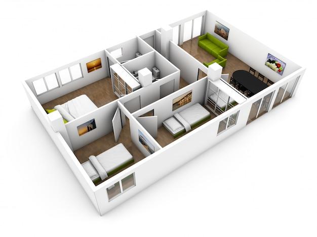 Wohnung zeigen