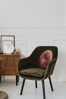 Wohnzimmer im klassischen stil, home interior design-konzept