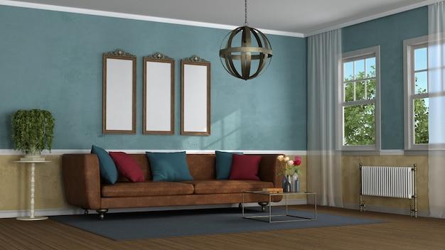Wohnzimmer im klassischen stil