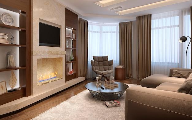 Wohnzimmer im modernen stil