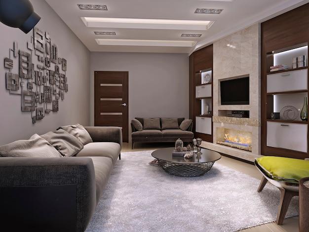 Wohnzimmer minimalismus stil