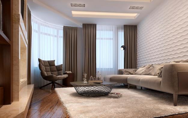 Wohnzimmer techno-stil