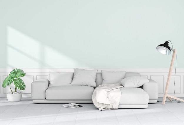 Wohnzimmerinnenraum in der modernen art